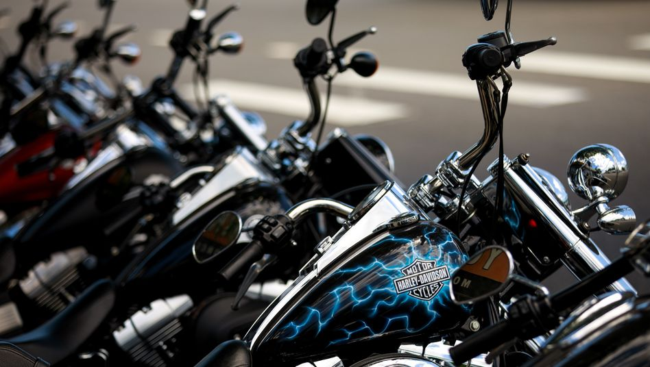 Harley-Davidson-Motorräder
