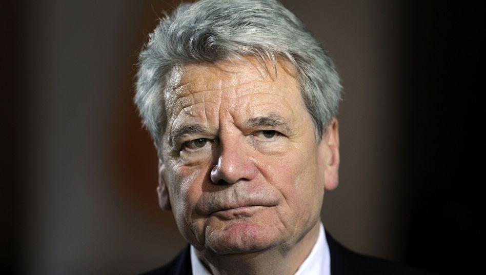 """Bundespräsident Gauck: """"Angst ist nicht so mein Thema"""""""