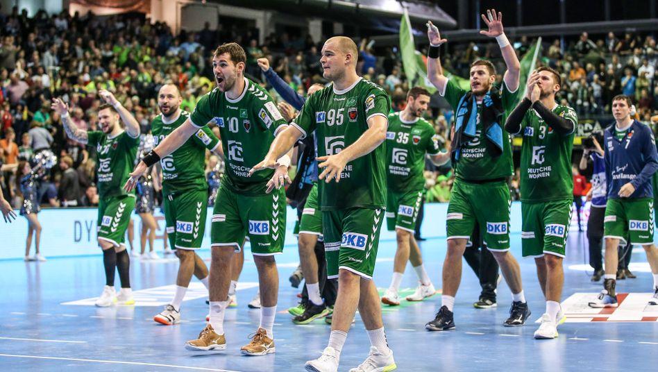 Die Füchse Berlin, Handball-Bundesligist, könnten von dem Konjunkturprogramm profitieren