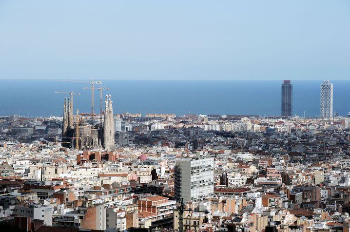 Blick über Barcelona (Archivbild)