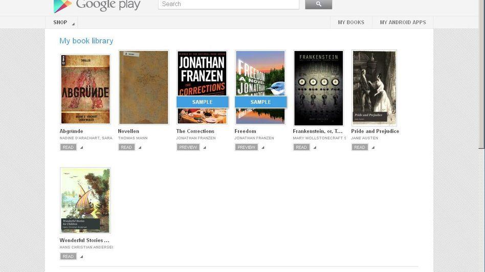 Google Play: E-Books sind neu im deutschen Angebot
