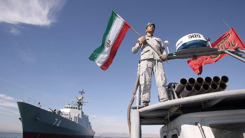 Iranischer Soldat