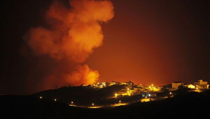 Waldbrände auf La Gomera: Evakuierung von Urlaubsort Valle Gran Rey