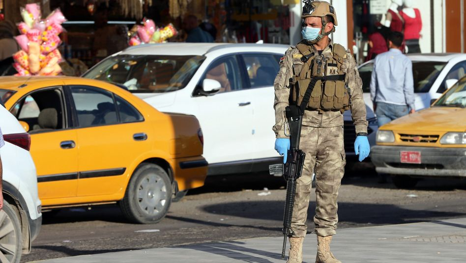 Soldat in Bagdad: Perfekter Sturm.