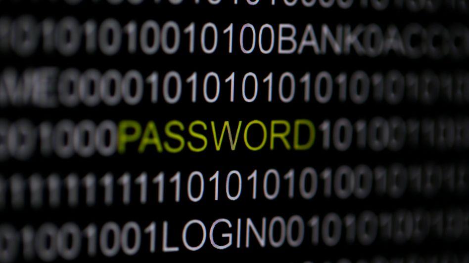 """Das Wort """"Password"""" auf einem Computerbildschirm"""