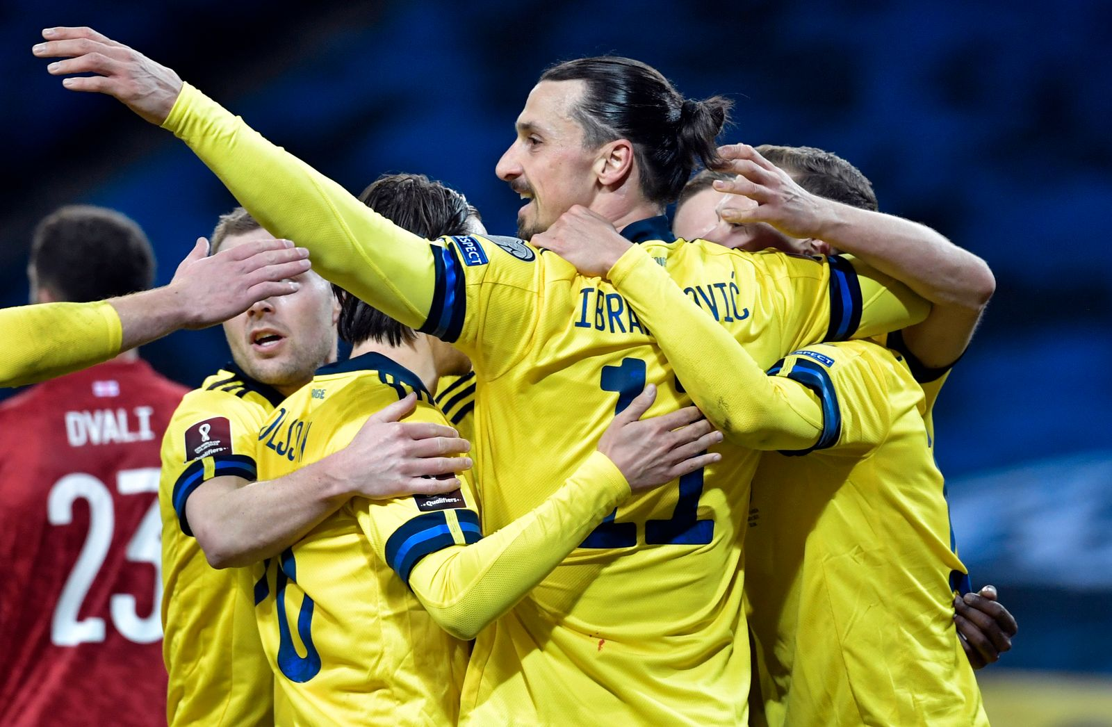 Sweden Georgia WCup 2022 Soccer