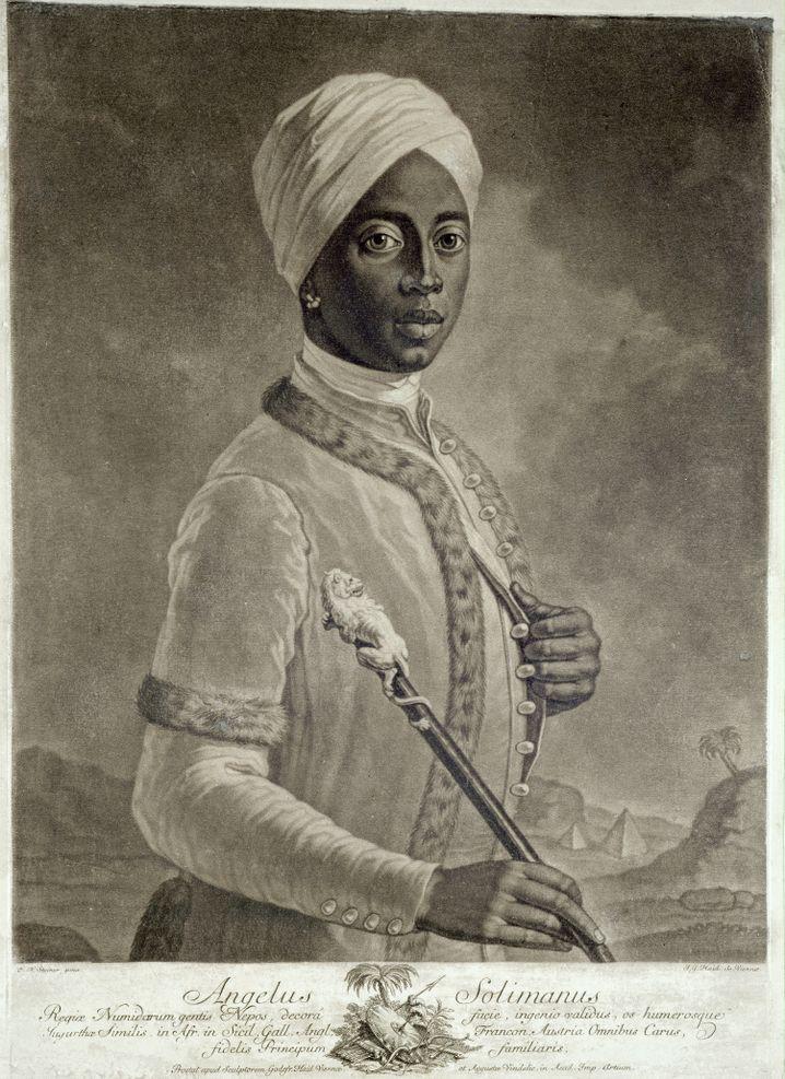 Angelo Soliman war im 18. Jahrhundert eine bekannte Persönlichkeit in Wien
