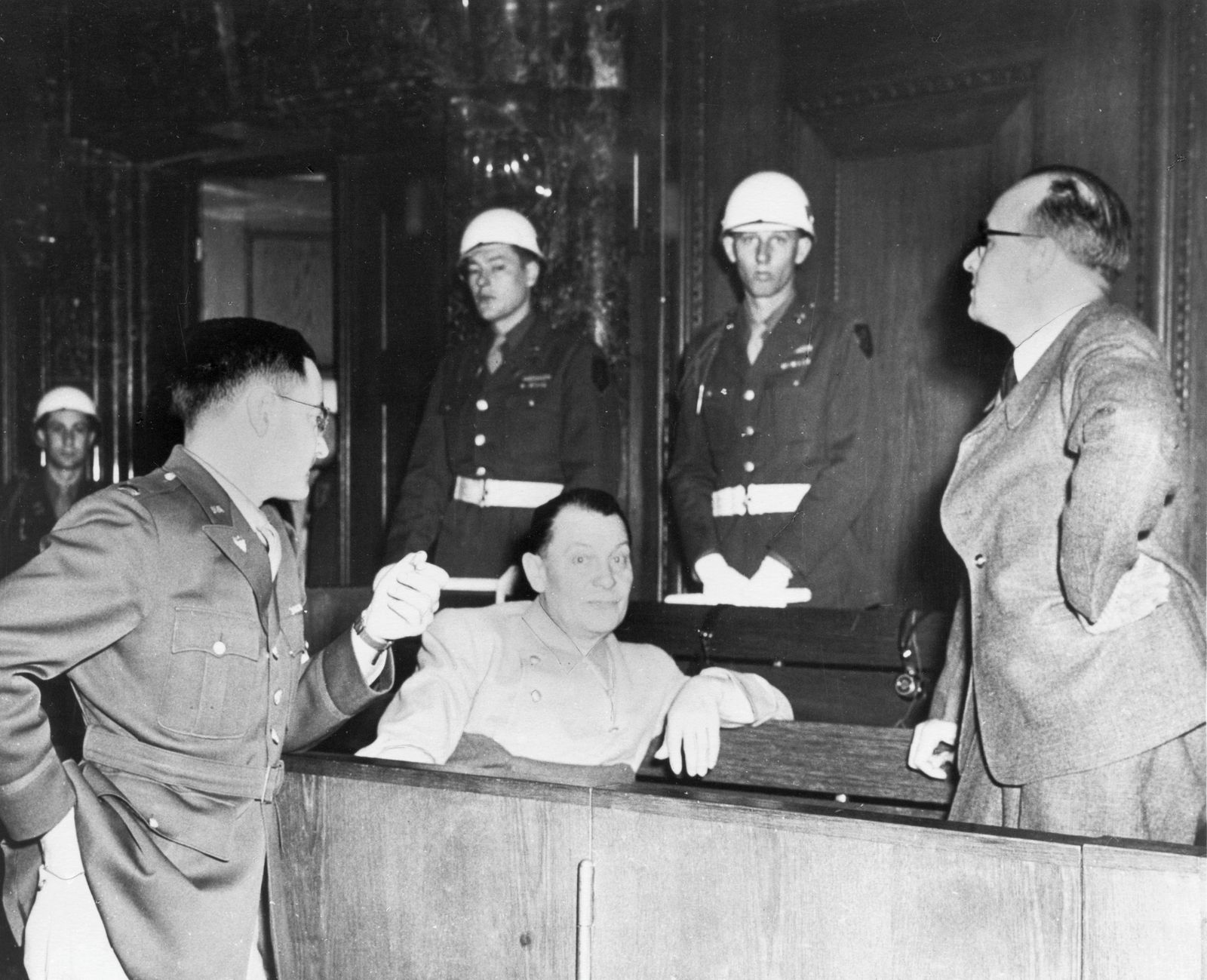 Nürnberger Prozess gegen die Hauptkriegsverbrecher (14.11.1945 - 01.10.1946)