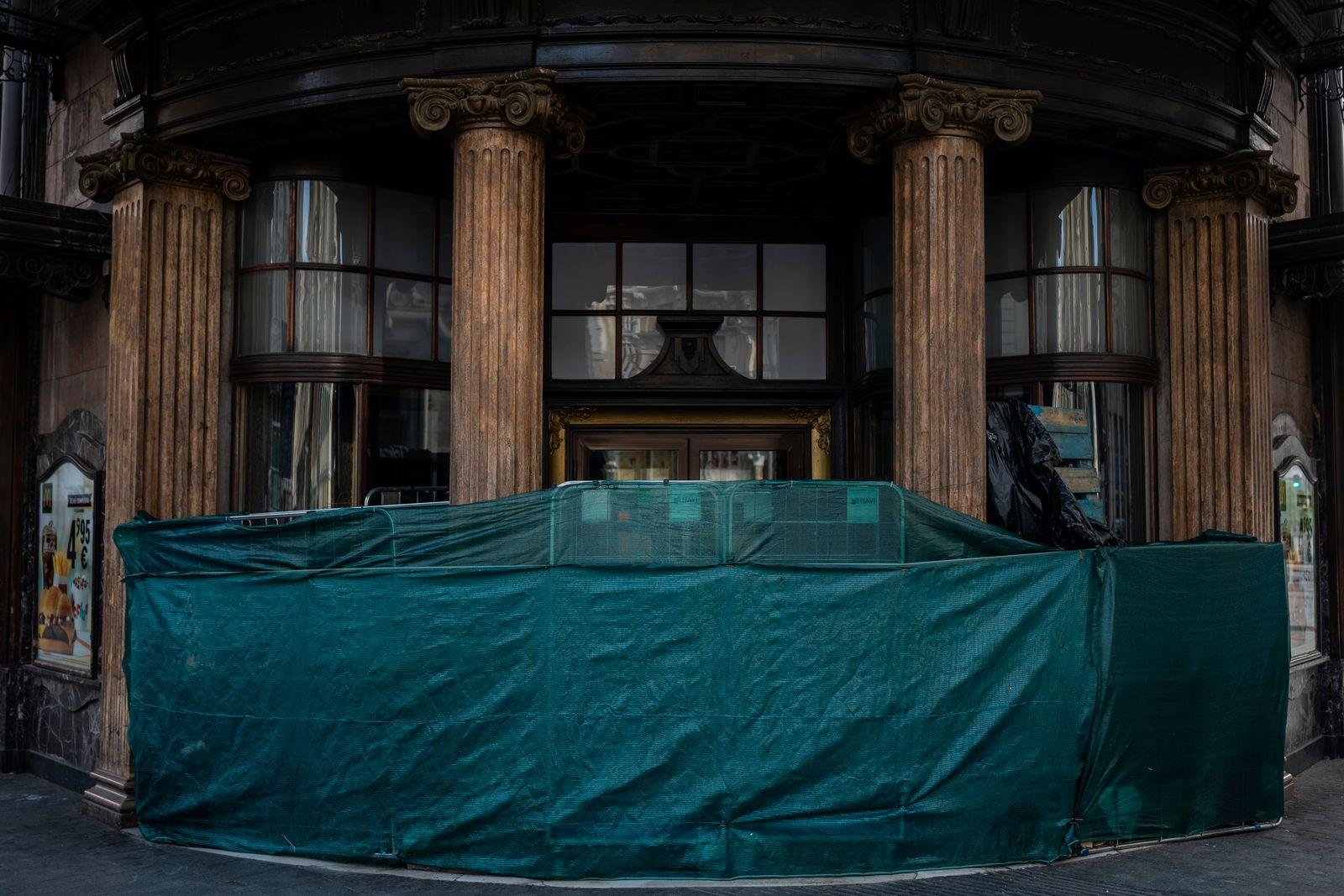 Virus Outbreak Spain Madrid Closed Photo Gallery