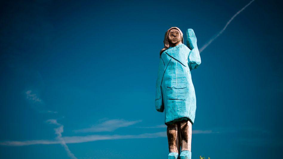 Skulptur der First Lady Melania Trump: Ende der Kritik