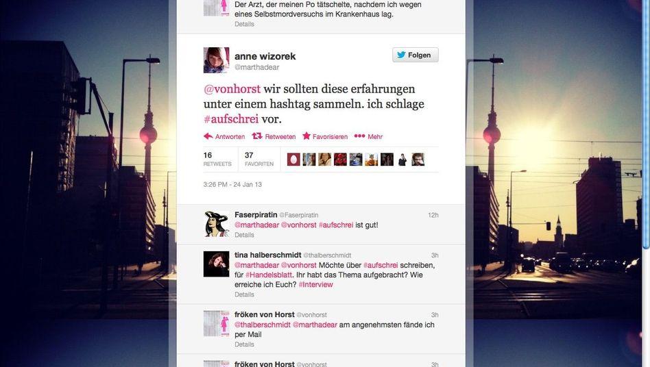 """""""Aufschrei""""-Debatte: Beispiele aus dem deutschen Alltag"""