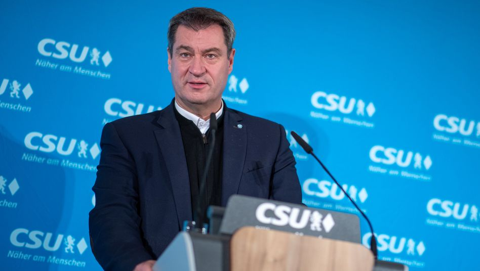"""Bayerns Ministerpräsident Markus Söder: """"Ich bin ein überzeugter Föderalist, aber..."""""""