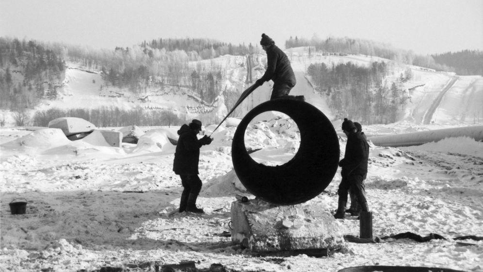 Mammutprojekt Erdgastrasse: Das Rohr zur Freiheit