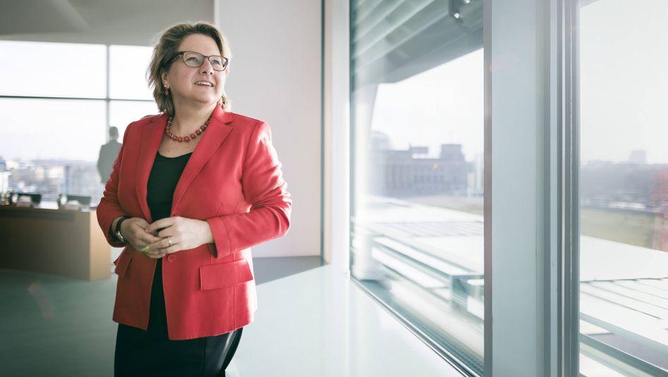 """SPD-Umweltministerin Svenja Schulze: """"Den Zickzackkurs der Vergangenheit können wir uns nicht mehr leisten"""""""