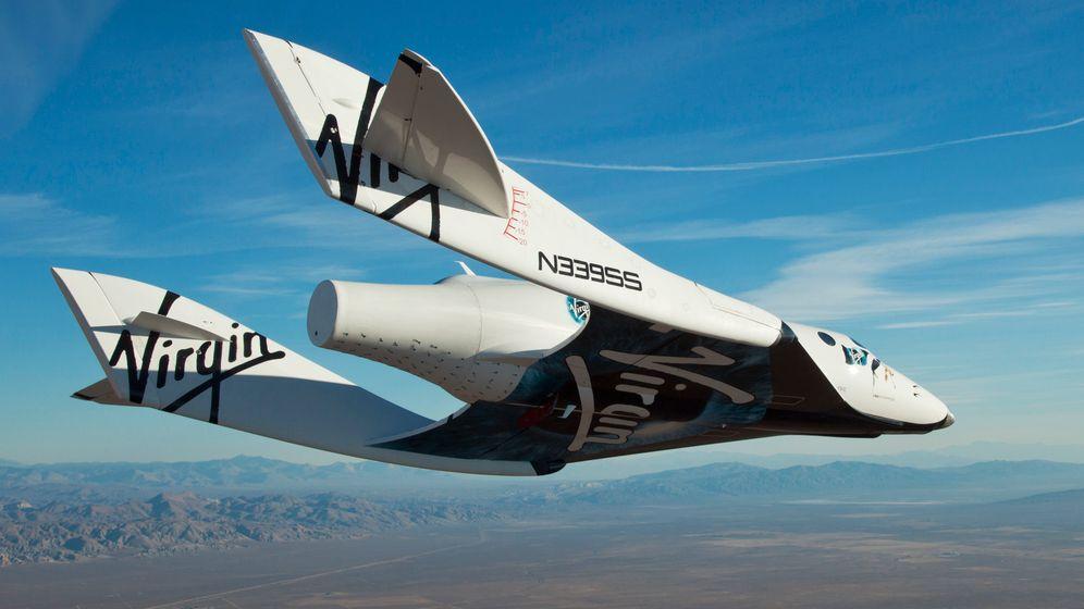 SpaceShipTwo: Rußschleuder in der Stratosphäre