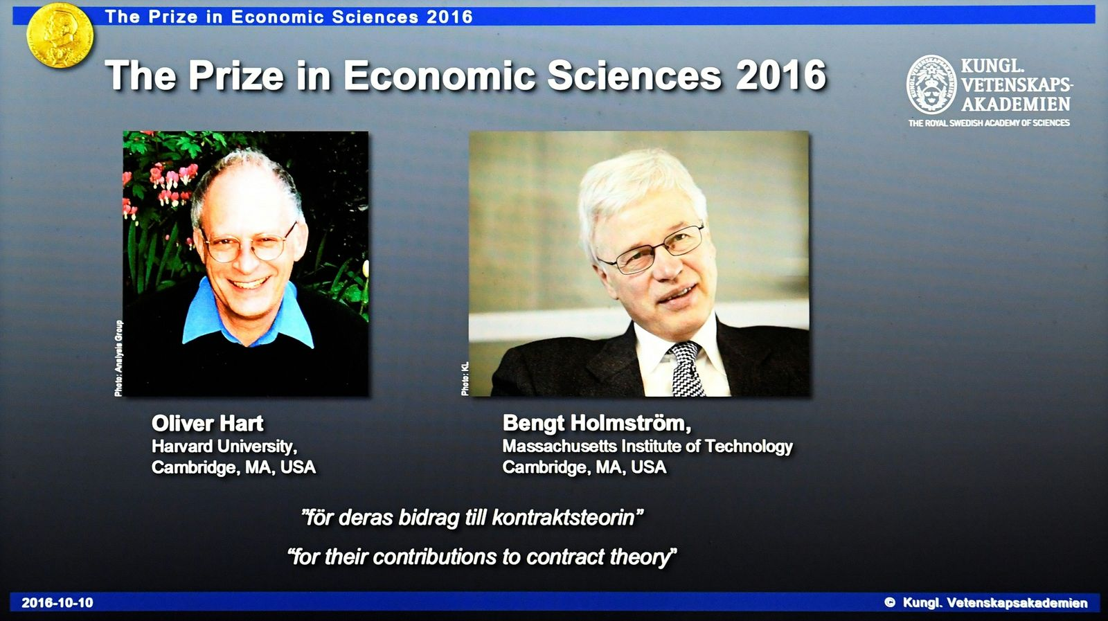 Nobelpreis Wirtschaft