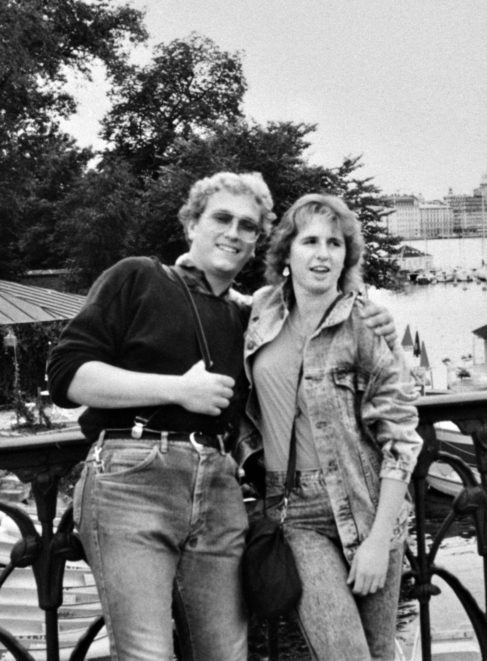 Mordopfer Klaus Schelkle und Freundin Bettina Taxis