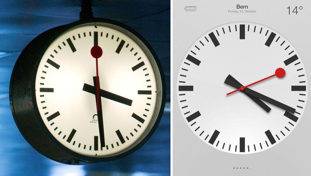 Bahnhofsuhr: Schweizer Designklassiker als App