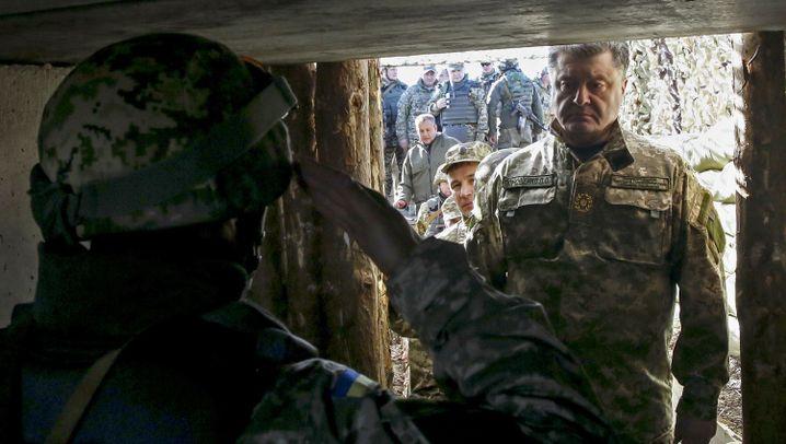 Präsidentschaftswahl in der Ukraine: Poroschenko und die Armee