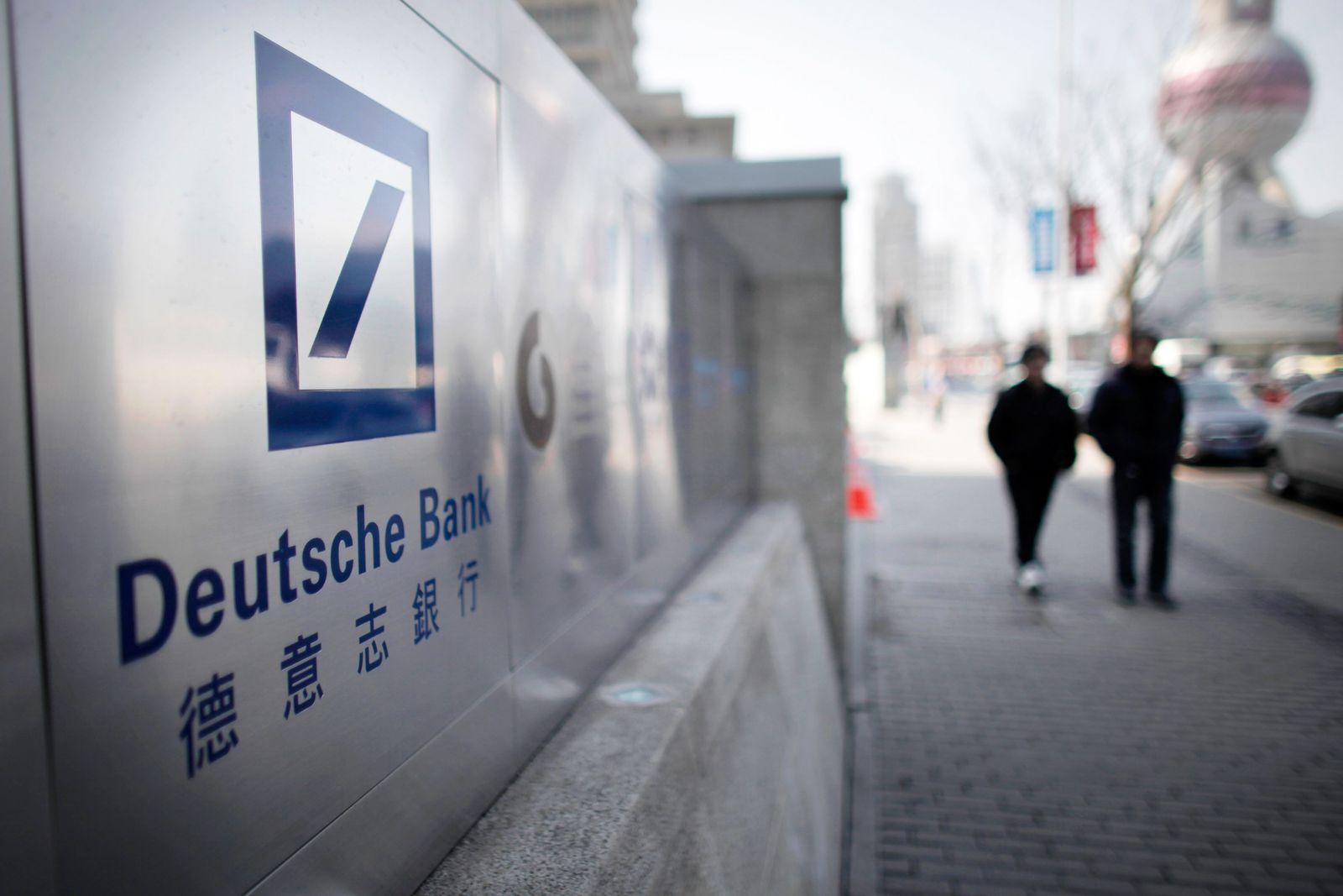 Deutsche Bank / Shanghai / China