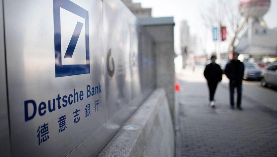 """Deutsche-Bank-Sitz in Shanghai: """"Versagen ihrer internen Risikoabwägung""""?"""