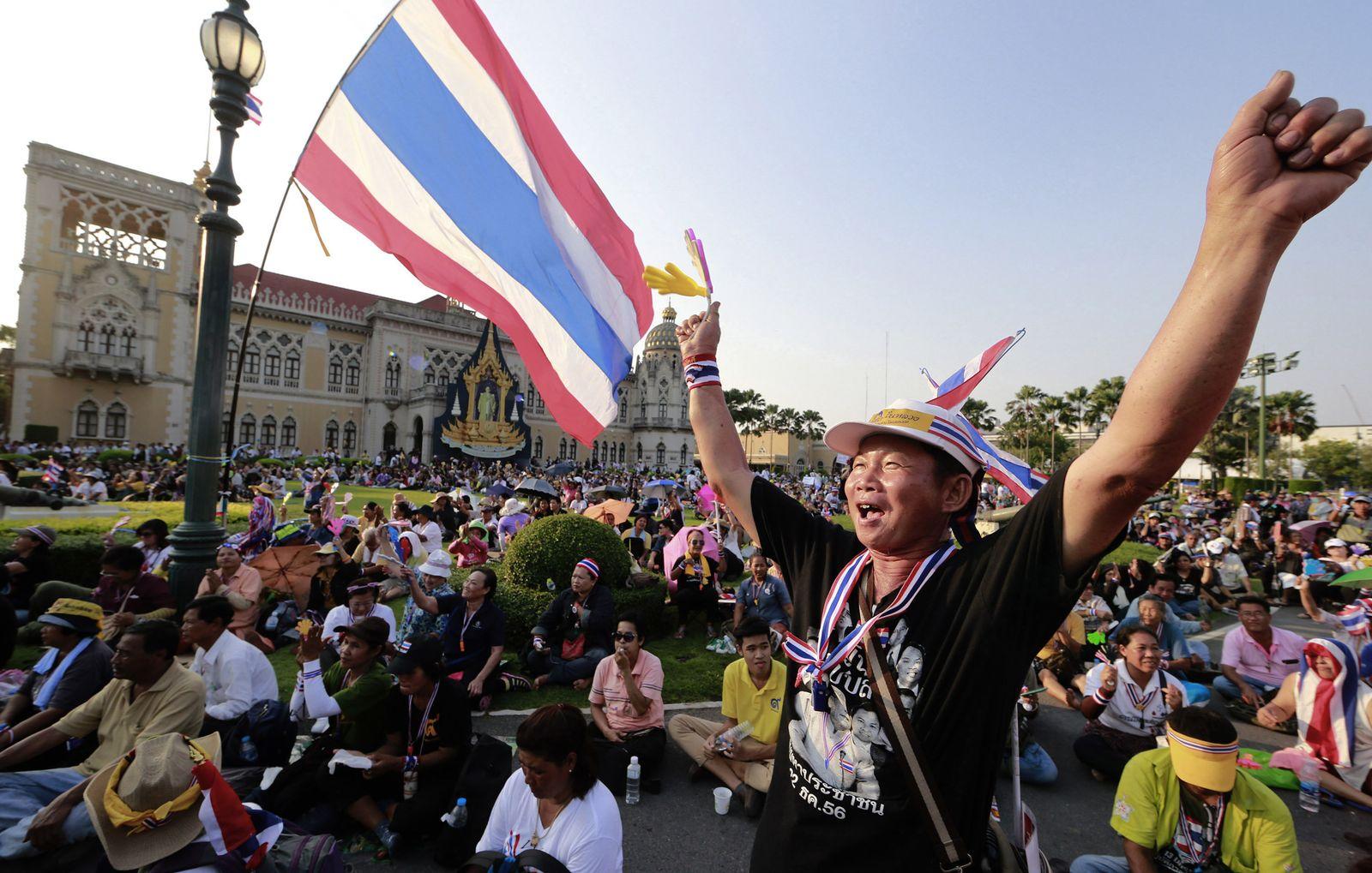 Bangkok/ Proteste