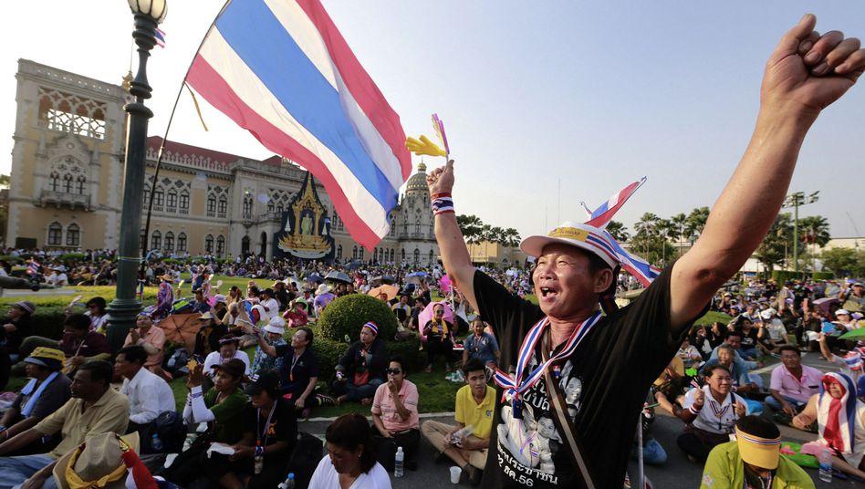 Thailändischer Regierungssitz in Bangkok: Wegen der Proteste wird der Amtssitz seit Monaten nicht genutzt