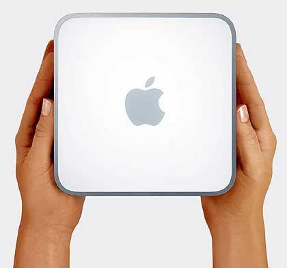 Handlich: Der Mac mini wiegt 1,3 Kilogramm