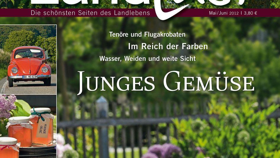 """Magazin """"Landlust"""": Zählt zu den zehn erfolgreichsten Publikumszeitschriften"""