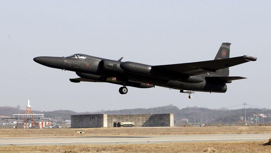 """U-2-Aufklärungsflugzeug der USA: """"Die Pacific Air Forces werden weiterhin jederzeit fliegen, wo es das Völkerrecht erlaubt"""" (Archivbild)"""