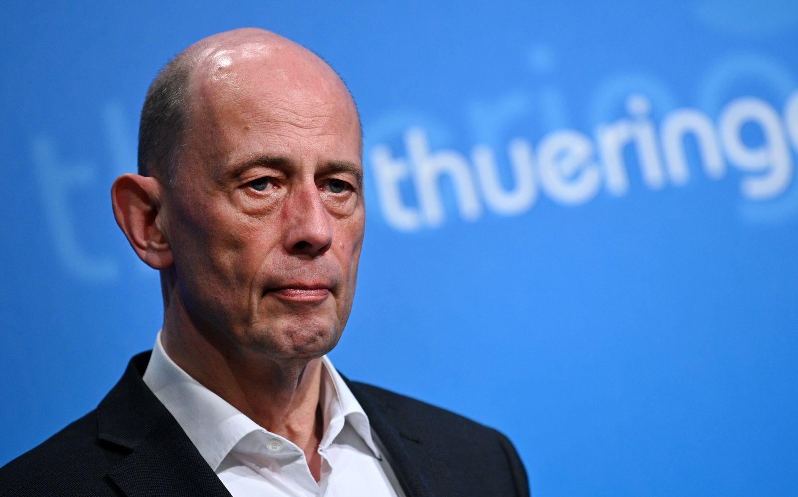 Thüringer Wirtschaftsminister Wolfgang Tiefensee