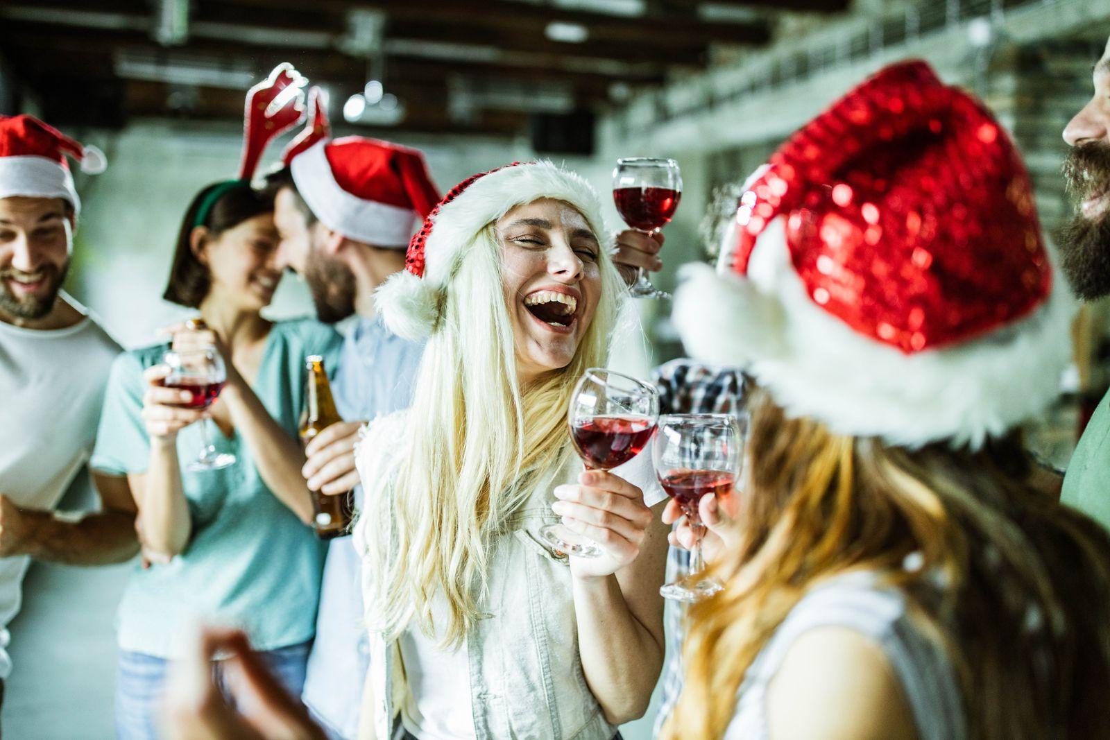 EINMALIGE VERWENDUNG Weihnachtsfeier Firma