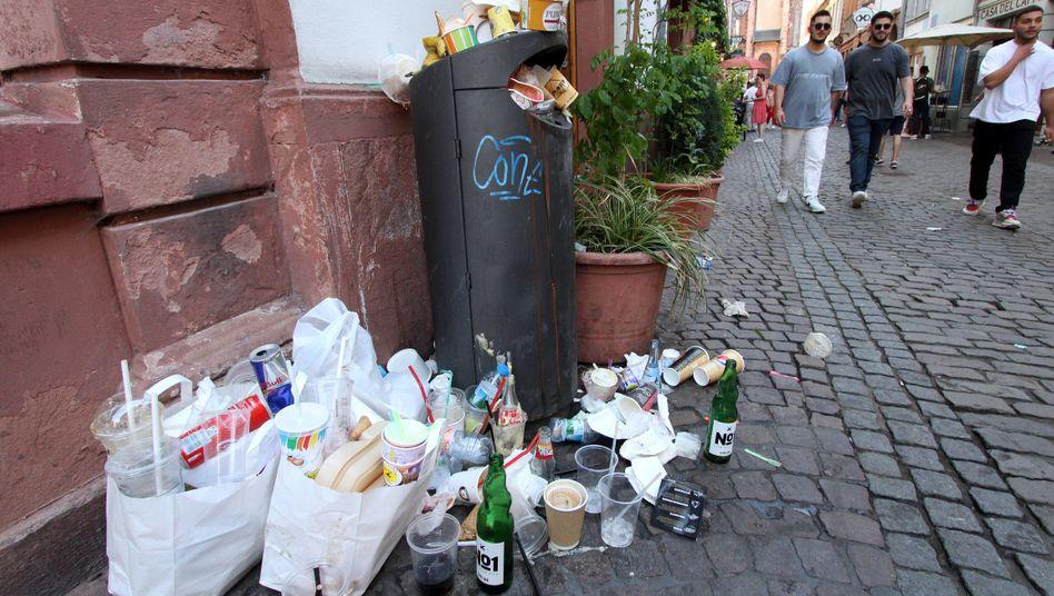 Dem Plastikmüll geht es an den Kragen: Ab 2022 treten neue Regelungen in Kraft