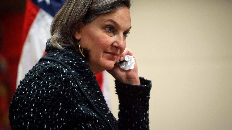 Victoria Nuland: Ungeschützt am Mobiltelefon geplaudert