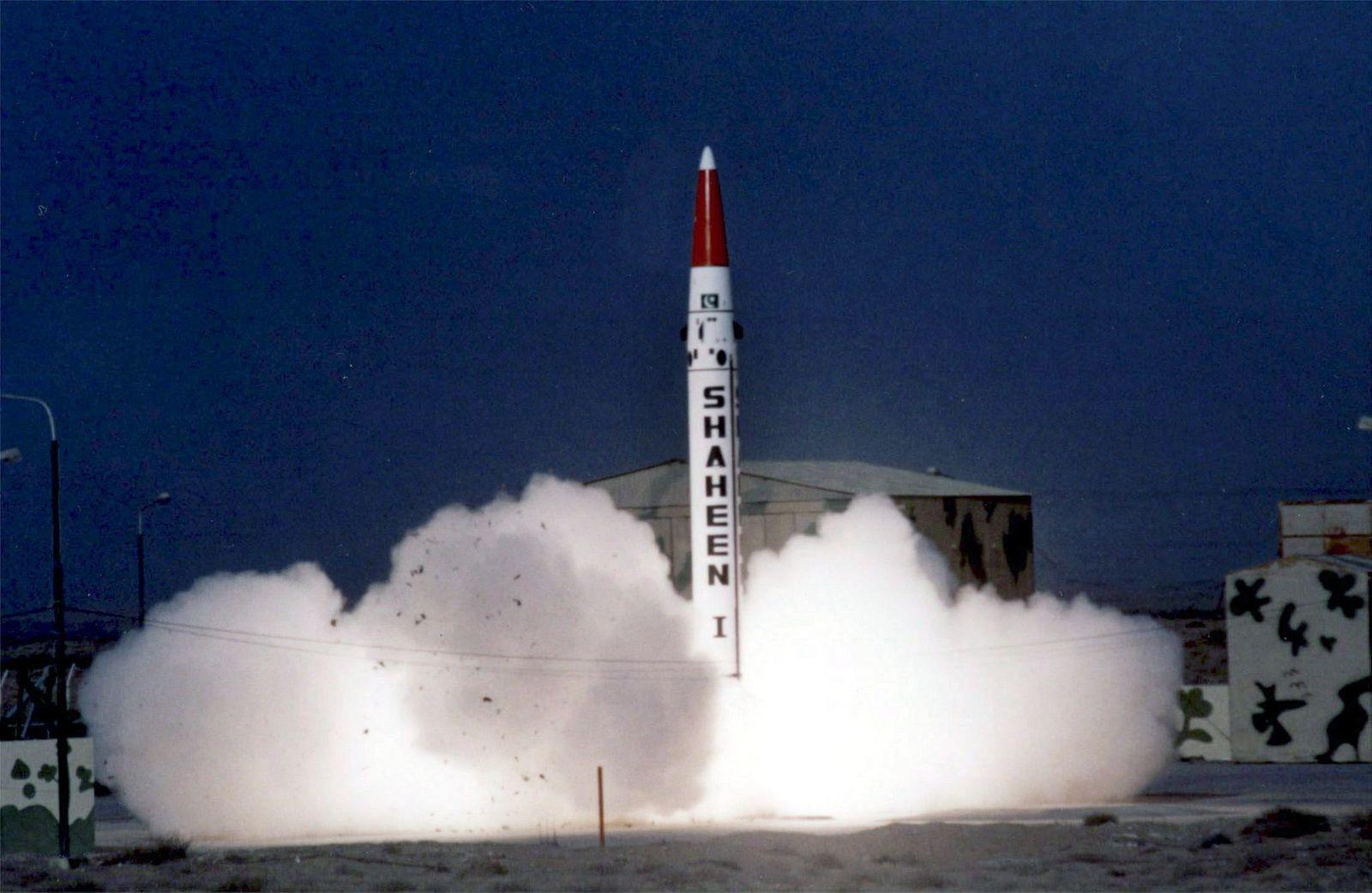 Pakistan testet atomwaffenfähige Rakete