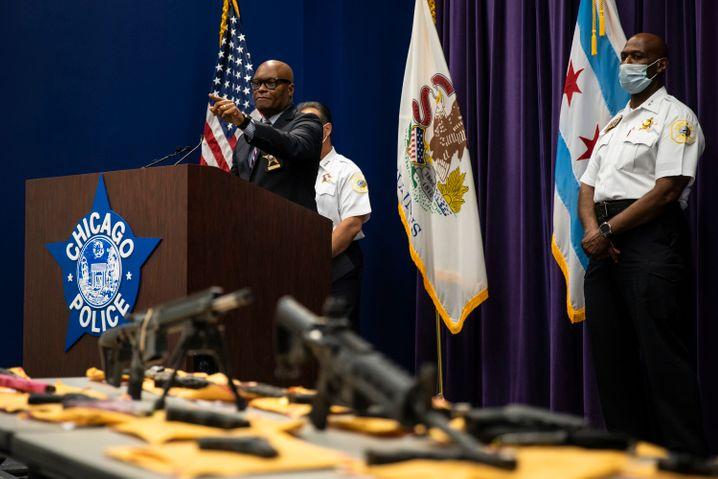 Nicht nur in New York ein Problem: Chicagos Polizeichef mit konfiszierten Schusswaffen