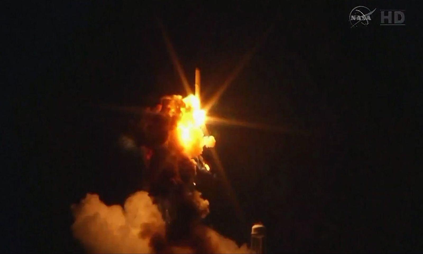 Nasa Rakete Cygnus explodiert