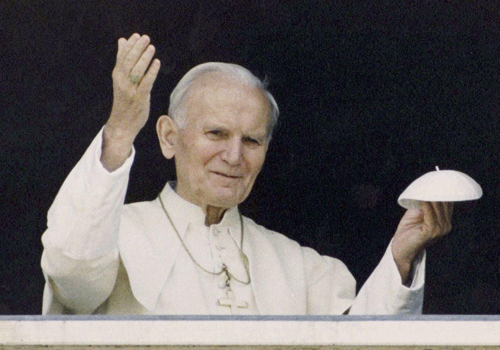 NUR FÜR FLASH Karol Wojtyla/ Papst Johannes Paul II
