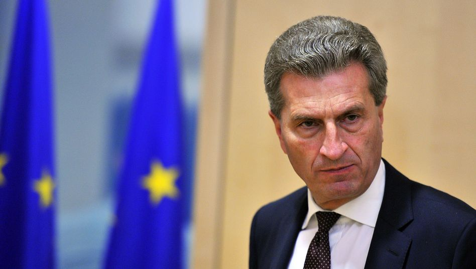 Günther Oettinger: Schuldenschnitt nicht ausgeschlossen