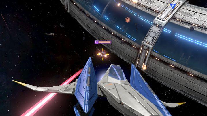 """Werbebild zu """"Star Fox Zero"""": Raumschiff-Action für die Wii U"""