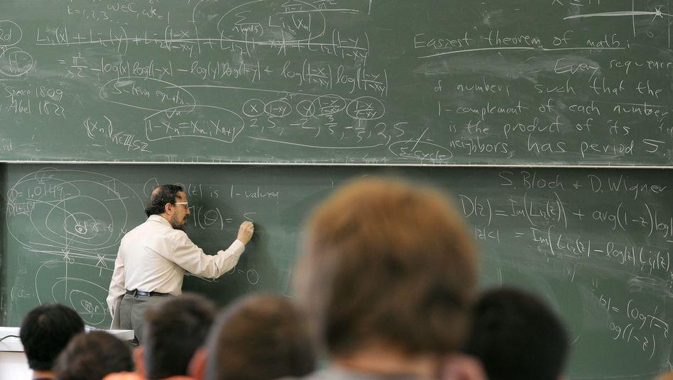 Mathematik: Vorlesung in Bremen (Archivbild)
