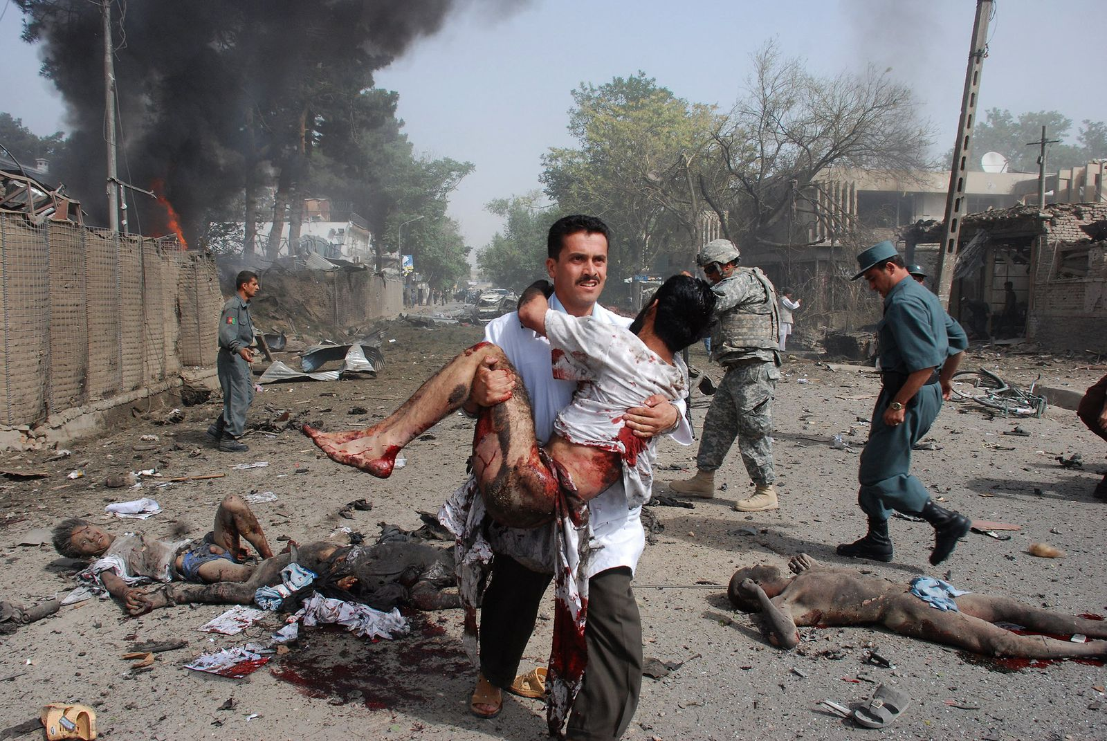 YEAR-2008-AFGHANISTAN-INDIA-UNREST