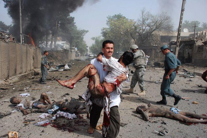 Endloser Terrorkrieg: Folgen eines Anschlags 2008 in Afghanistan