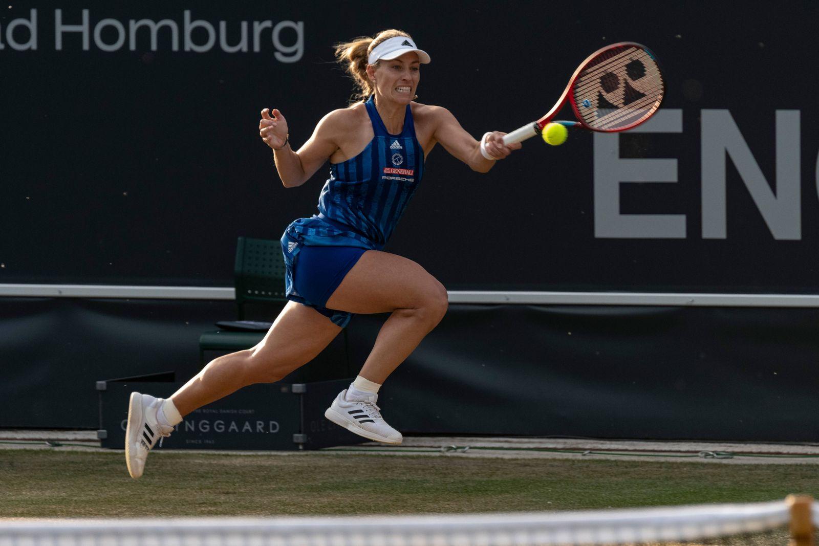 Tennis In Bad Homburg Angelique Kerber Gewinnt Ersten Titel Seit Wimbledon 2018 Der Spiegel