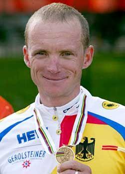 Bronze bei der Rad-WM: Uwe Peschel