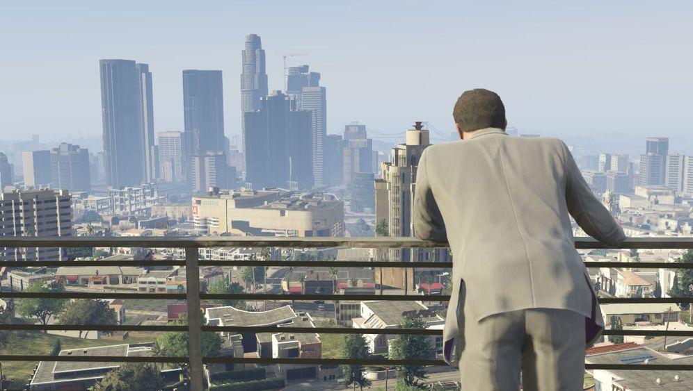 """Das Spiel, die Stadt und der Tod: Darum geht es in """"GTA V"""""""
