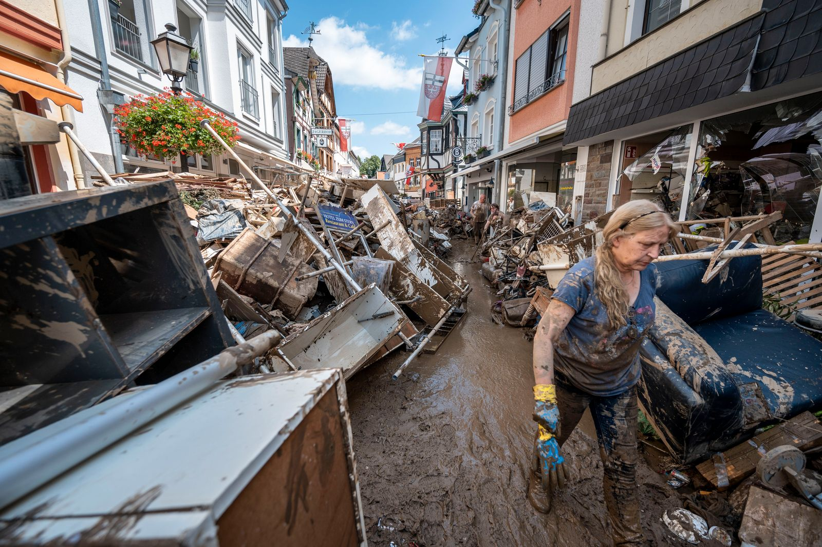 *** BESTPIX *** Germany Continues Evacuation And Rescue From Floods As Death Toll Rises