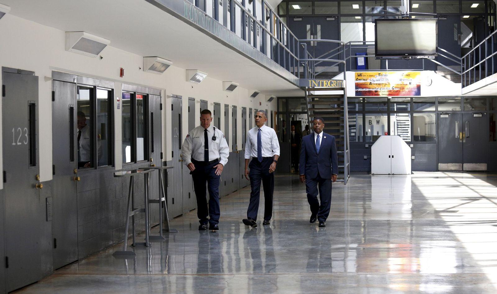 Obama im Knast