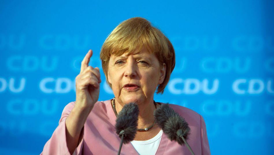 Kanzlerin Merkel: Sechs von zehn Unionsanhänger bezweifeln ihre Unkenntnis über NSA-Programme