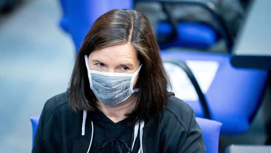 Die Grünen-Fraktionsvorsitzende Katrin Göring-Eckardt warnt, dass Frauen die Verliererinnen der Coronakrise sein könnten
